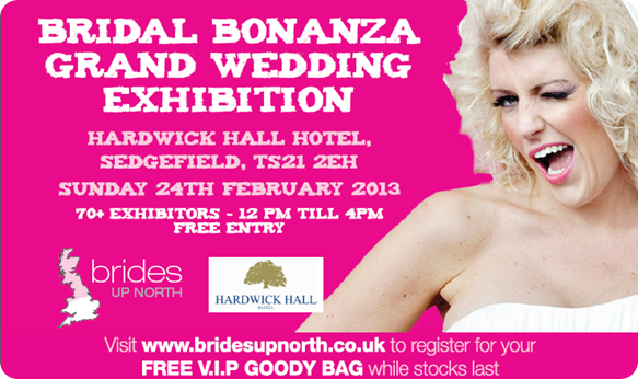 Hardwick Hall Wedding Fair - Brides Up North Bridal Bonanza