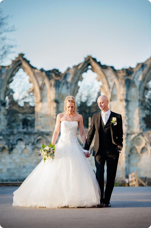 York Winter Wedding - Dominic Wright Photography