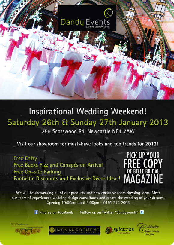 Dandy Events Inspirational Wedding Weekend