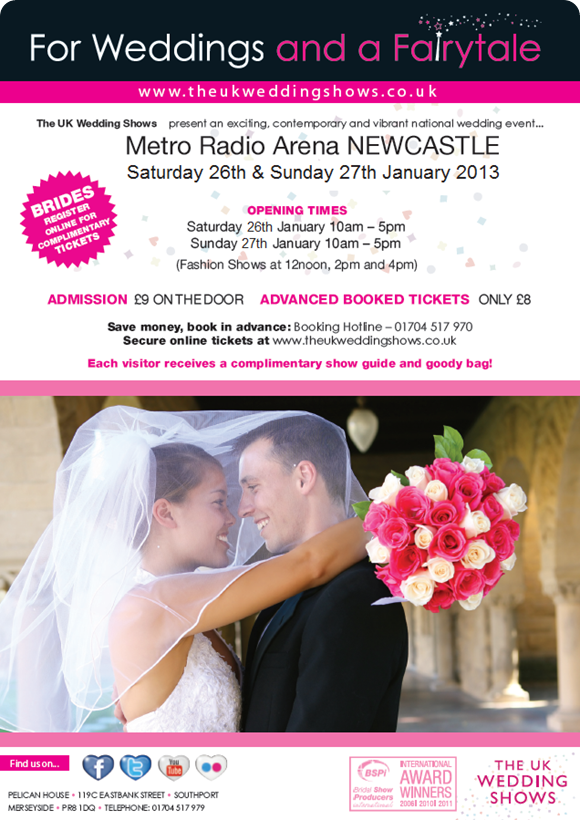 The UK Wedding Shows at Metro Arena