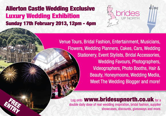 Allerton Castle Luxury Wedding Exhibition 1