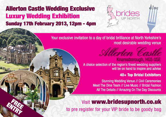 Allerton Castle Luxury Wedding Exhibition