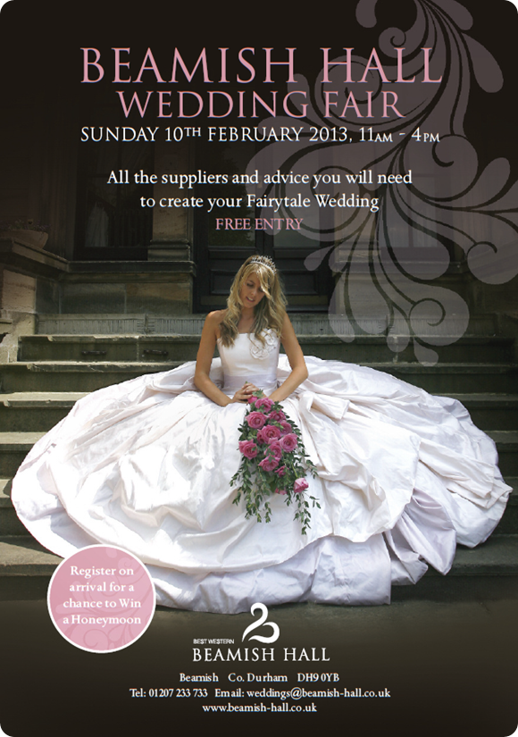 Beamish Hall Wedding Fair