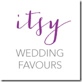 Itsy Wedding Favours