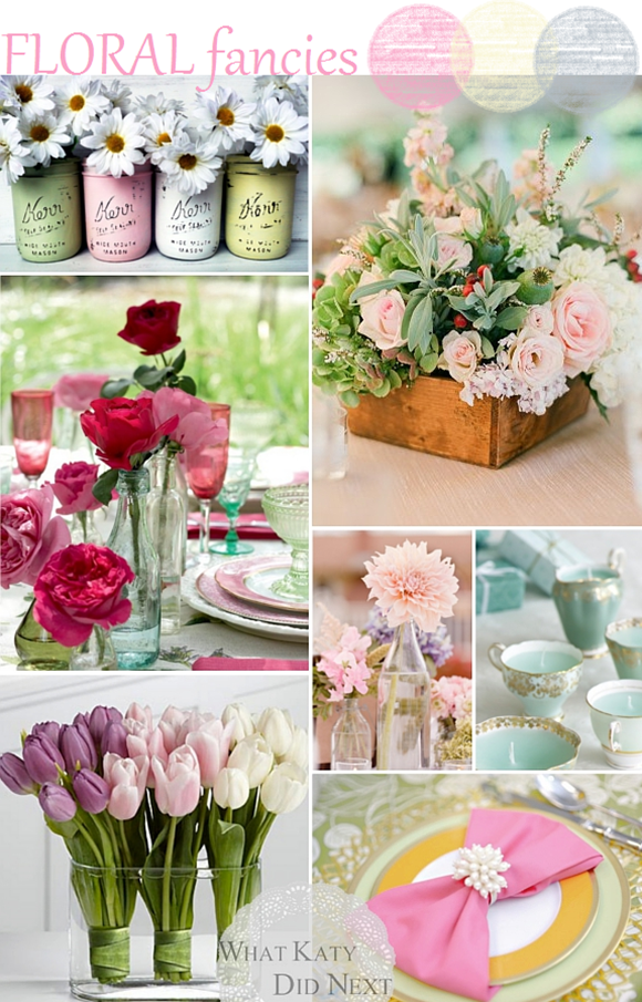 Floral Fancies - Wedding Inspiration