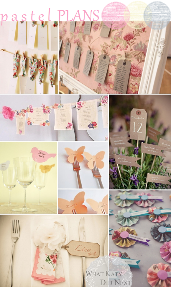 Pastel Plans - Wedding Inspiration