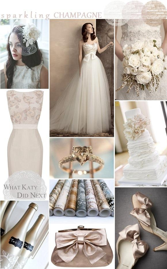 Champagne Wedding Inspiration