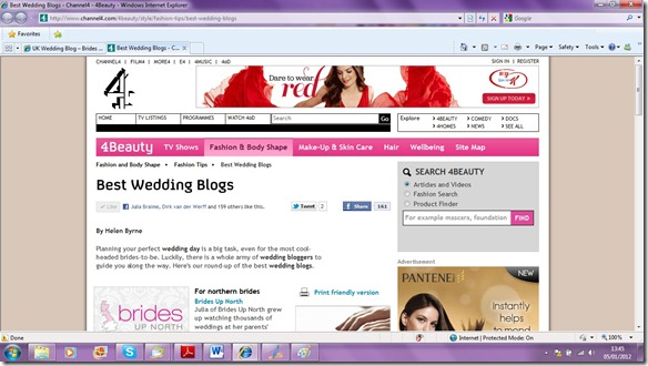 Brides Up North UK Wedding Blog: Best Wedding Blogs 2011