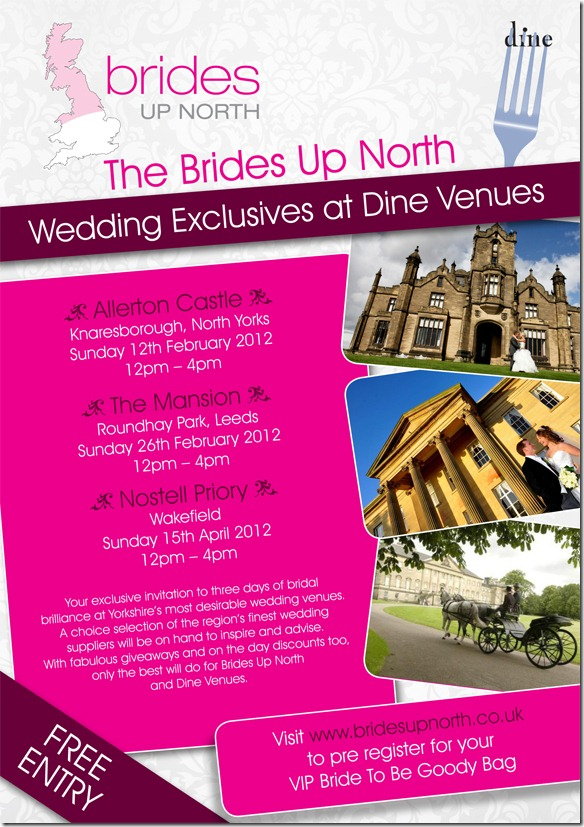 Brides Up North Wedding Exclusives Spring 2012