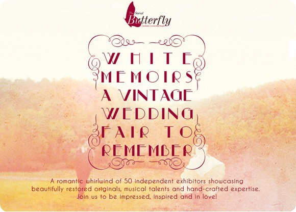 White Memoirs Vintage Wedding Fair