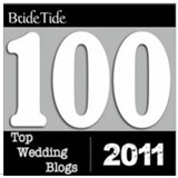 Bride Tide Top 100 Wedding Blogs of 2011