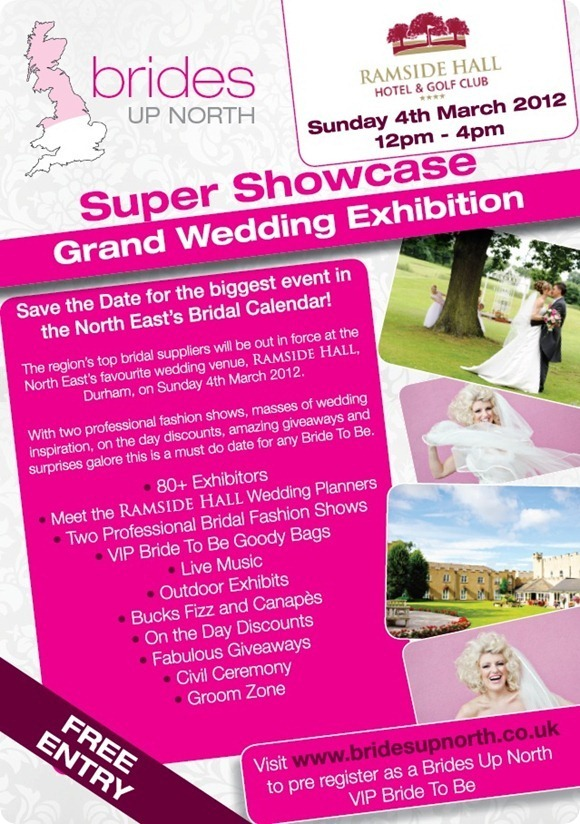 Brides Up North Super Showcase at Ramside Hall