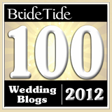 Bride Tide Top 100 Wedding Blogs 2012