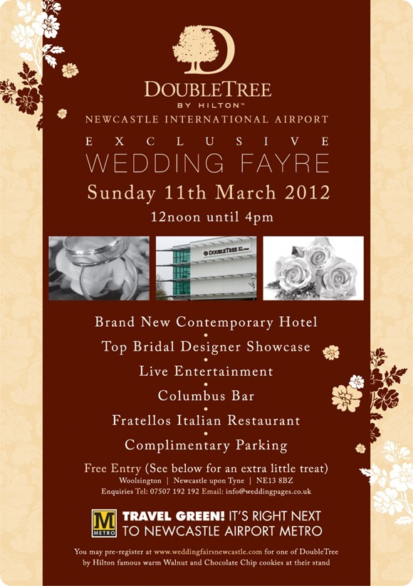 DoubleTree Newcastle International Airport Wedding Fair