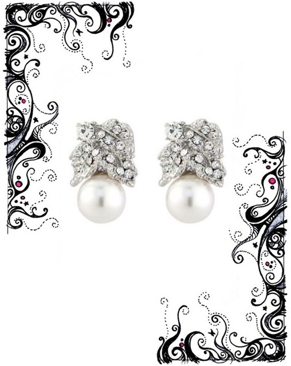 Glitzy Secrets Captivating Class Earrings