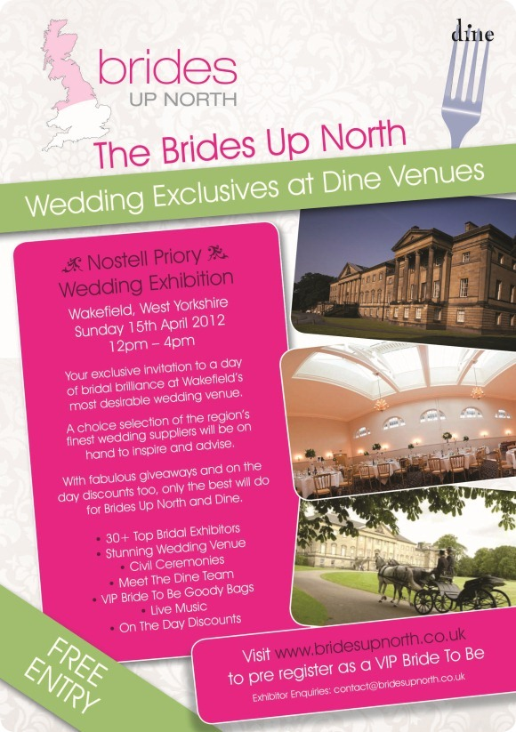 The Brides Up North Wedding Exclusive at Nostell Priory