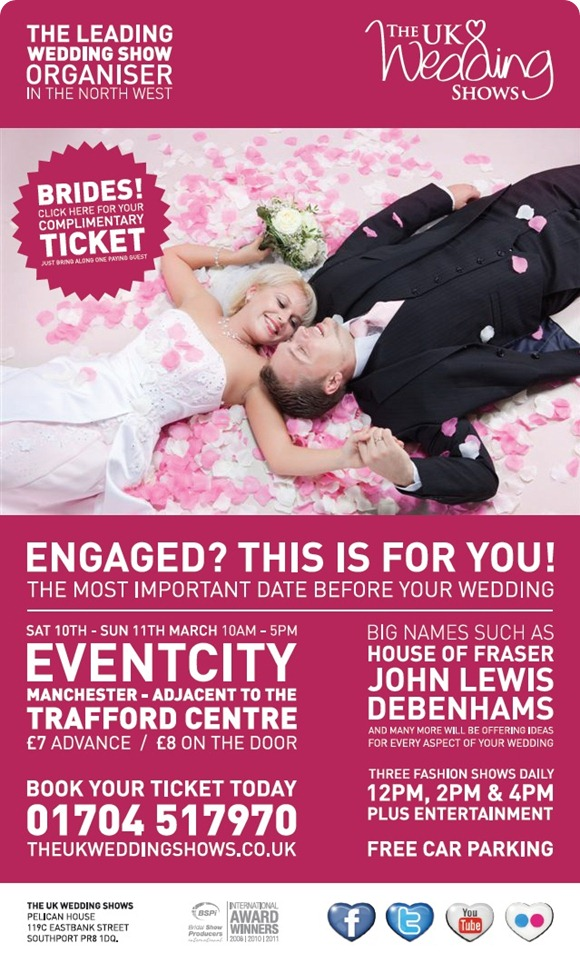 The UK Wedding Show Manchester Event City