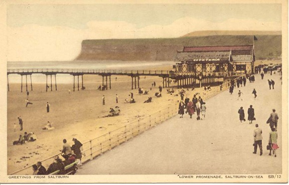 Saltburn By The Sea Postcard