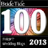 Bride Tide Best Wedding Blogs 2013