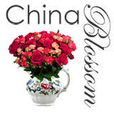 China Blossom Vintage China Hire