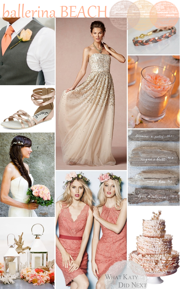 Balllerina Beach Wedding Inspiration