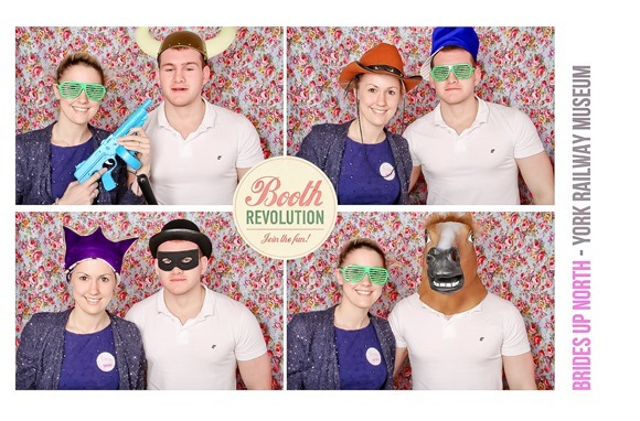 Booth Revolution at The National Railway Museum Wedding Fair