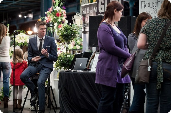 Peter Boyd Photography at the National Railway Musuem Wedding Fair