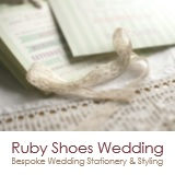 Ruby Shoes Wedding