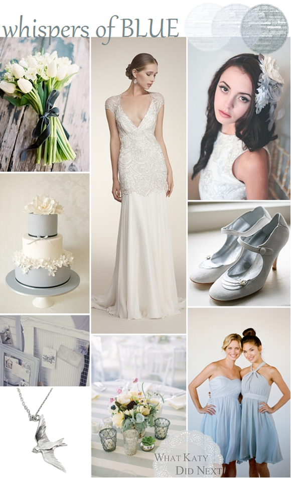 Whispers Of Blue Wedding Inspiration