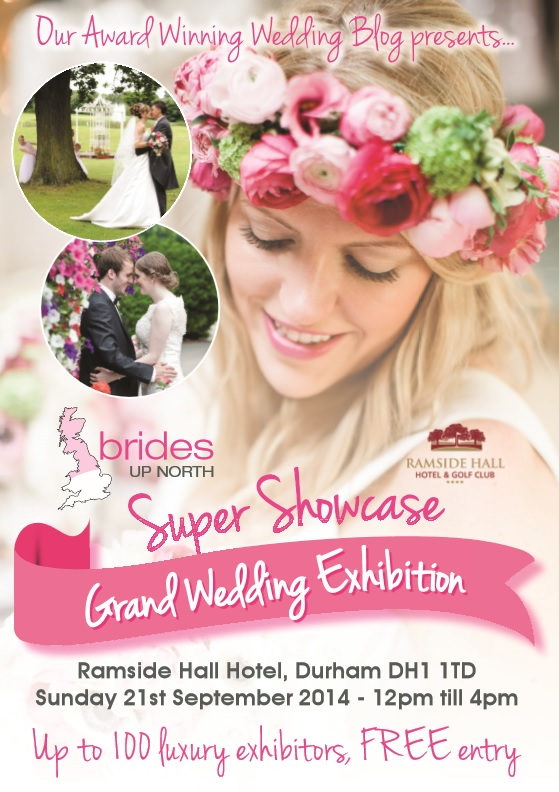 Ramside Hall Super Showcase Grand Wedding Exhibition Autumn 2014