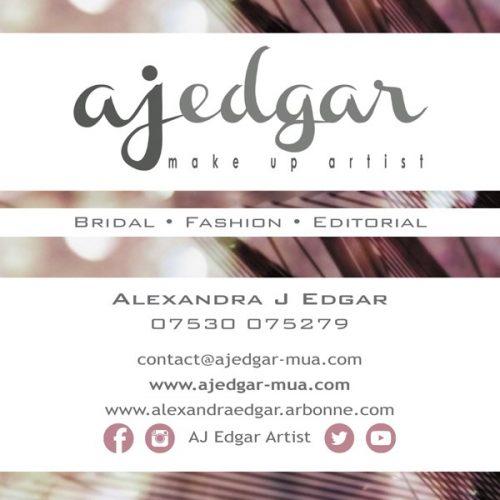 A J Edgar Make Up Artist