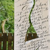 Calligraphy For Weddings - a styled bridal shoot (c) Vickerstaff Photography (32)