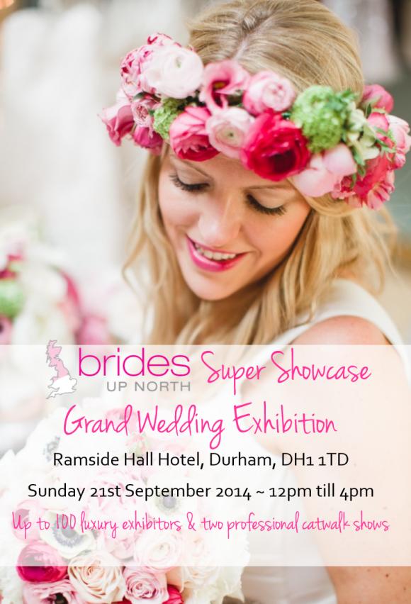 Ramside Hall Super Showcase Grand Wedding Exhibition Autumn 2014