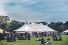 a pop up evening wedding festival fair @ hornington manor