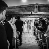 mori lee for an indie wedding at ripley castle wedding (c) James Tracey Photography (12)