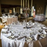 mori lee for an indie wedding at ripley castle wedding (c) James Tracey Photography (22)