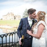 mori lee for an indie wedding at ripley castle wedding (c) James Tracey Photography (30)