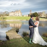 mori lee for an indie wedding at ripley castle wedding (c) James Tracey Photography (31)