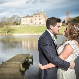 mori lee for an indie wedding at ripley castle wedding (c) James Tracey Photography (32)