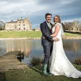 mori lee for an indie wedding at ripley castle wedding (c) James Tracey Photography (33)