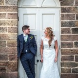 mori lee for an indie wedding at ripley castle wedding (c) James Tracey Photography (35)
