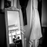 mori lee for an indie wedding at ripley castle wedding (c) James Tracey Photography (5)