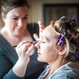 mori lee for an indie wedding at ripley castle wedding (c) James Tracey Photography (6)
