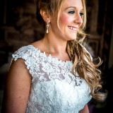 mori lee for an indie wedding at ripley castle wedding (c) James Tracey Photography (9)