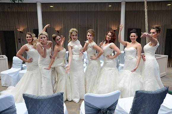 Etc Magazine Wedding event, Seaham Hall Hotel Sunday 16th March 2014.