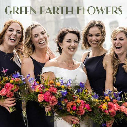 Green Earth Flowers