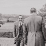 Jen + Rob's vintage wedding at Priory Cottages near Wetherby.