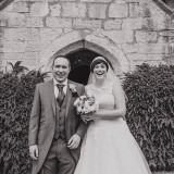 Jen + Rob's classic wedding at The Priory Cottages near Wetherby.