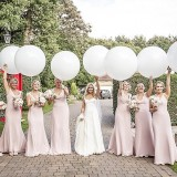 Phillipa Lepley for a pretty pink marquee wedding at home (c) Sean Elliott Photography (48)
