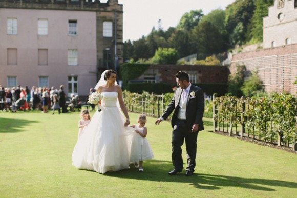 Wedding at Hassop Hall